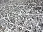 Detail from Bird's-Eye View Map of Paris.